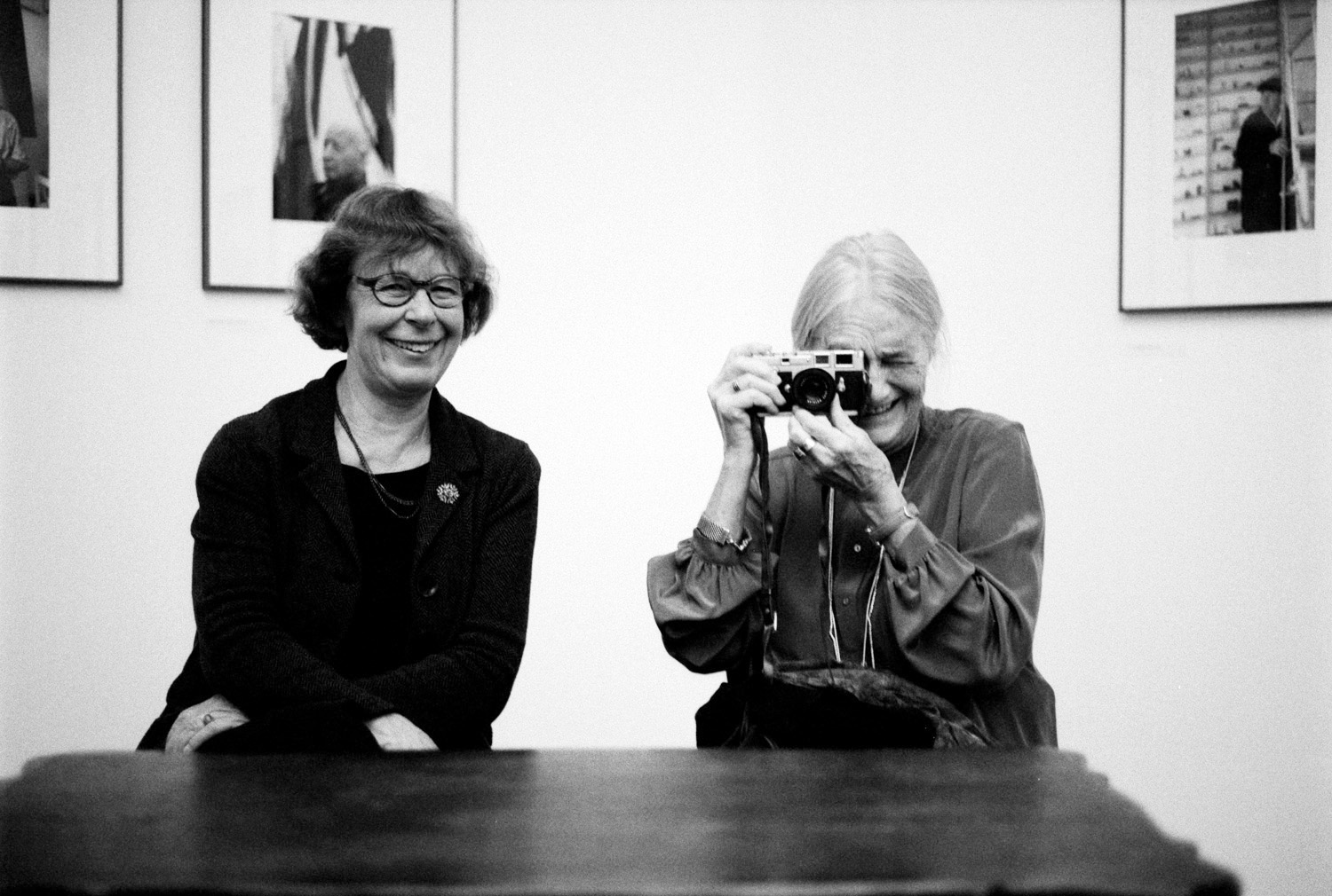 Barbara Klemm und Evelyn Richter