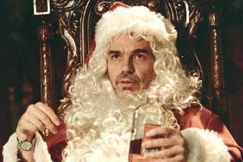 Der Anti-Weihnachtsmann aus dem Film »Bad Santa«