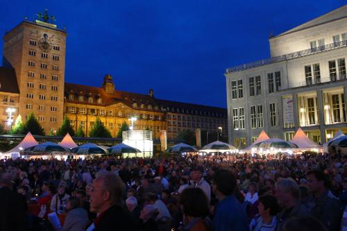 Sind die Classic Open Ruhestörung? Darum geht es schon lange nicht mehr. Foto: Stadt Leipzig