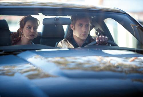 Ryan Gosling als Autofahrer