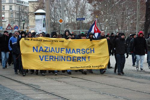 Den Naziaufmarsch zu verhindern, lautet auch dieses Jahr das Ziel.