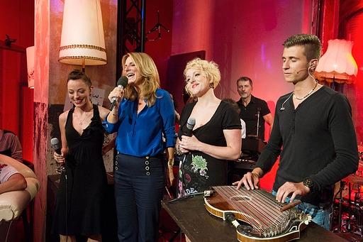Kim Fisher singt im Westwerk, Foto: MDR/Axel Berger