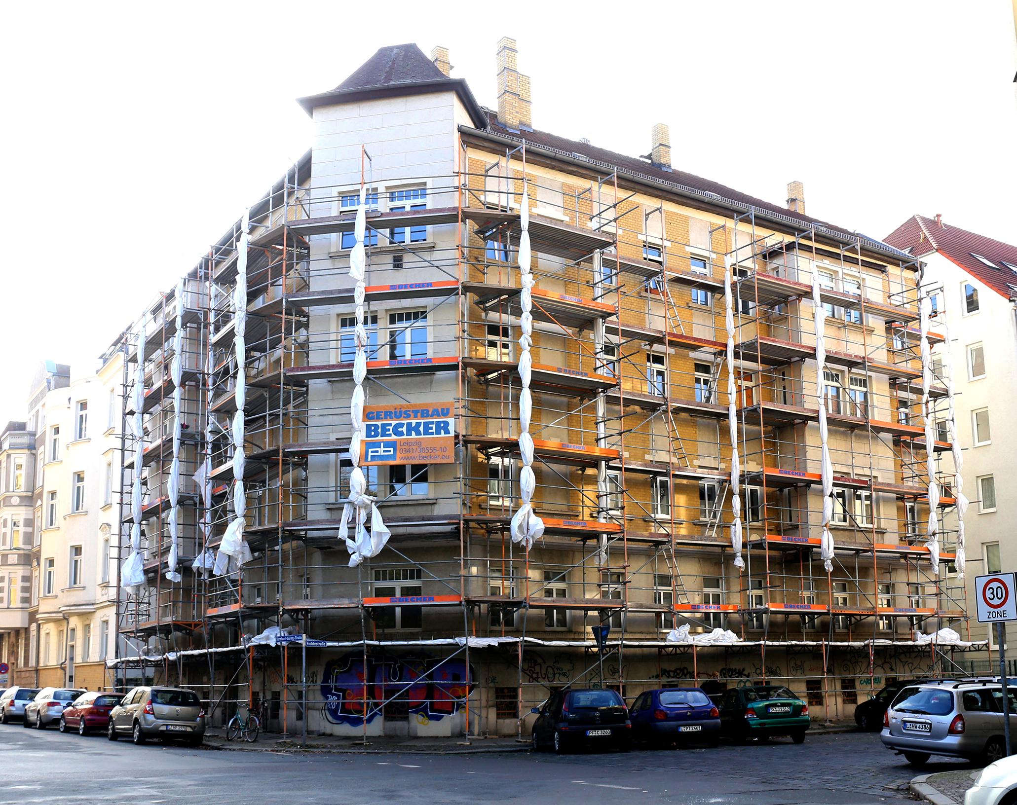 Enthüllt: Die Bernhard-Göring-Straße 110 am 29. Oktober
