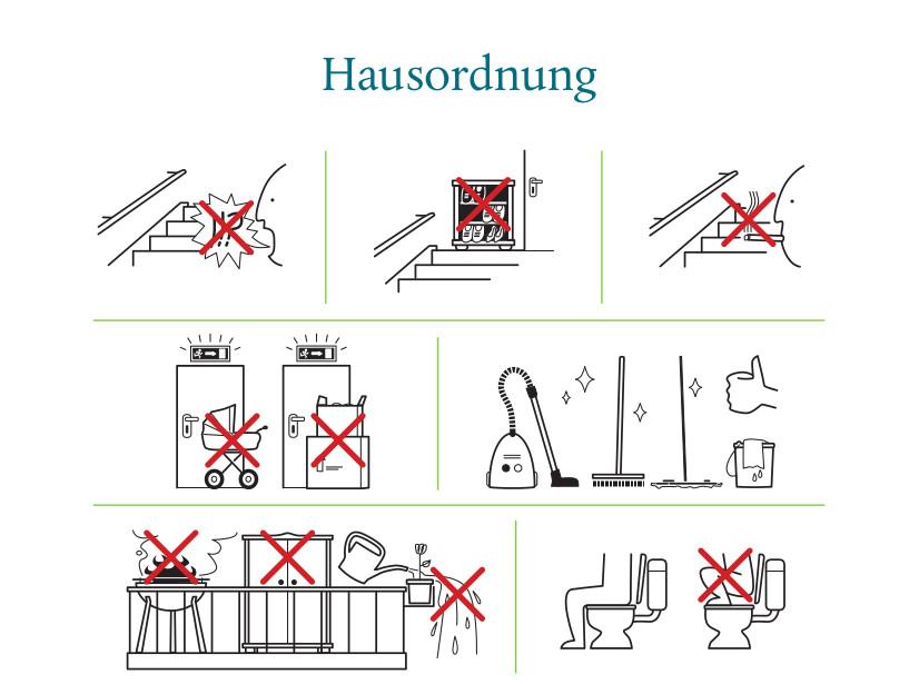 Hausordnung der Dresdner Wohngesellschaft Gagfah / Foto: Gagfah