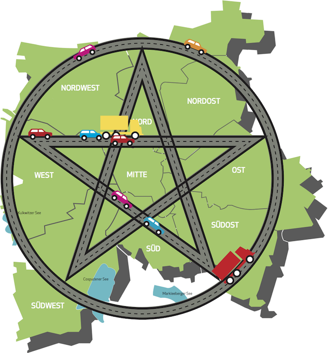 Man muss es nur wollen: Das große Leipziger Tunnel-Pentagramm