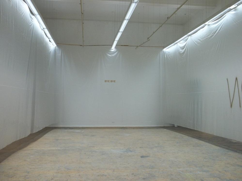 """""""Under Construction"""" Astrid Klein Klasse"""
