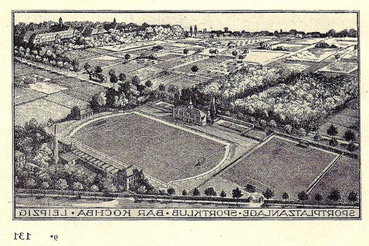 Die Anlage des Sportclubs in den 30er Jahren.