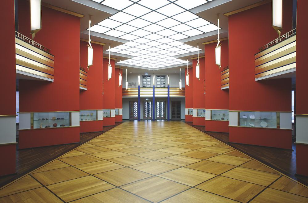 Die Pfeifferhalle des Grassi-Museums